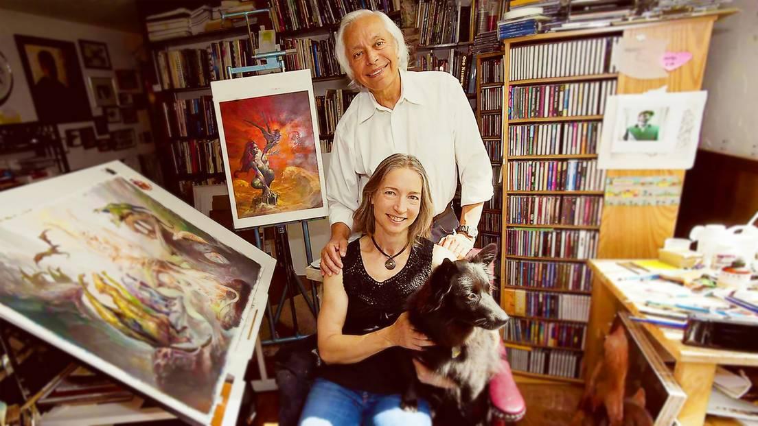 Julie Bell and Boris Vallejo