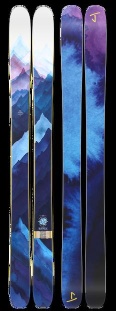 "The Slacker ""RANGE"" Chris Crossen x J Collab Limited Edition Ski"