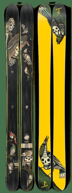 "The Slacker ""FLOCK"" Kyler Martz x J Collab Limited Edition Ski"