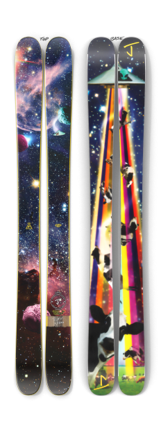 """The Max """"COWS IN SPACE"""" Limited Edition Ski"""