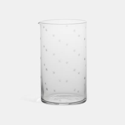 Star Cut Mixing Glass - The Cocktail Collection