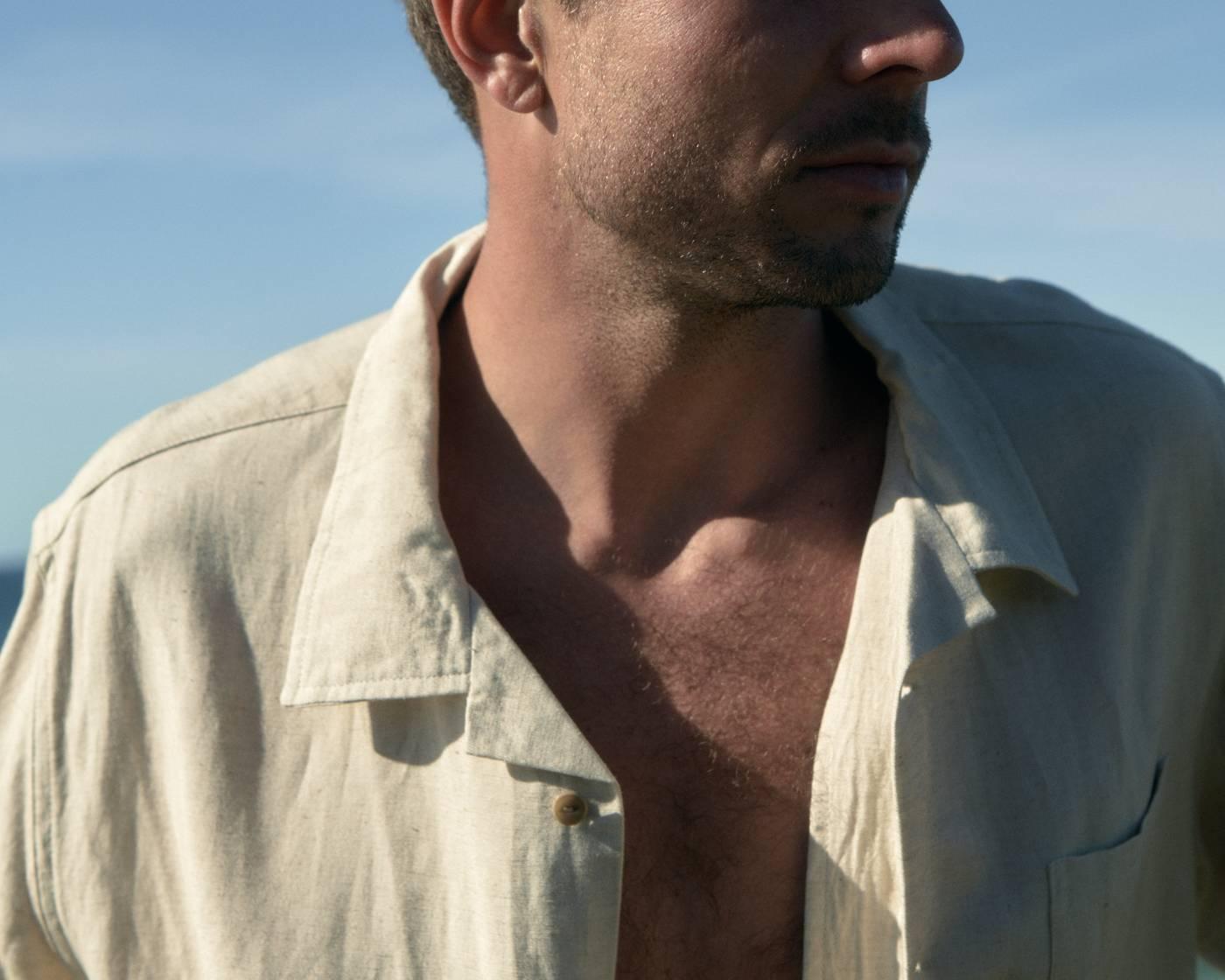 Sunset Linen Shirt