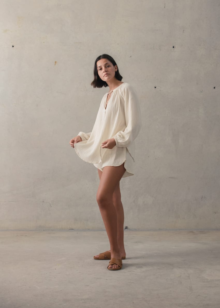 Wategos Linen Dress