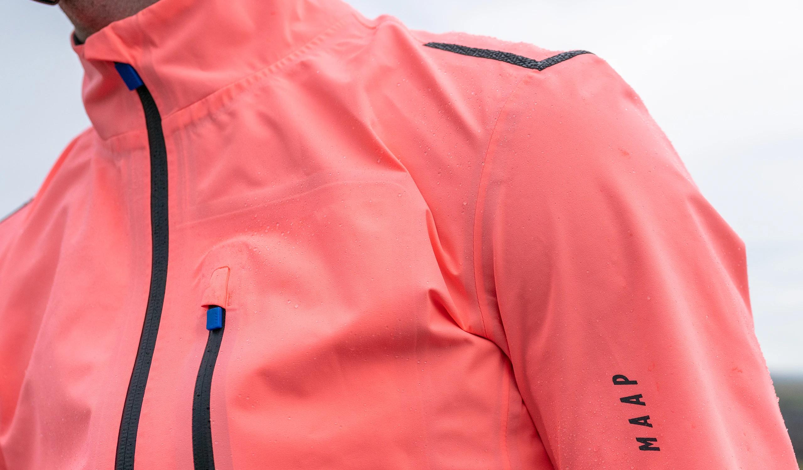 Men's Ascend Pro Rain Jacket / Light Coral