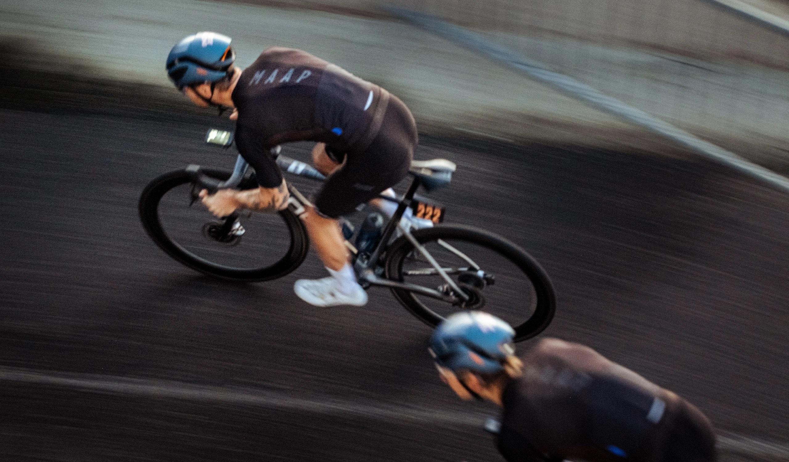 Men's Stealth Race Fit Jersey / Black