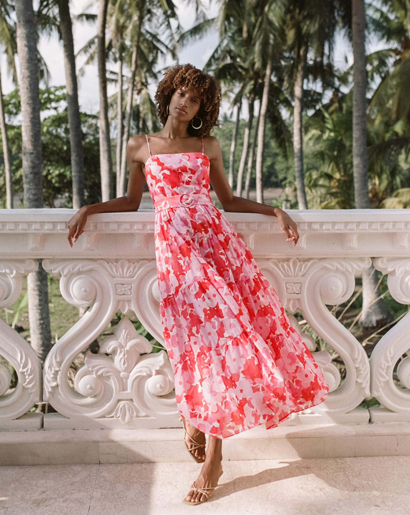 Harper Dress - Camellia