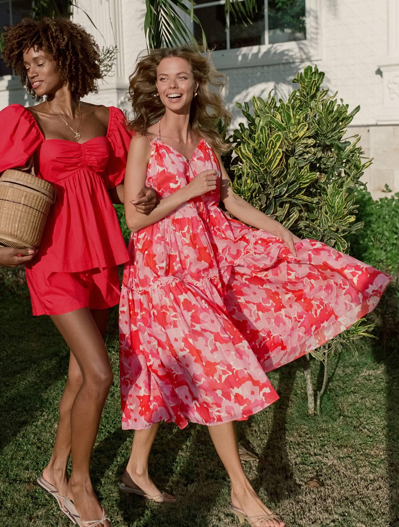 Arya Dress - Camellia