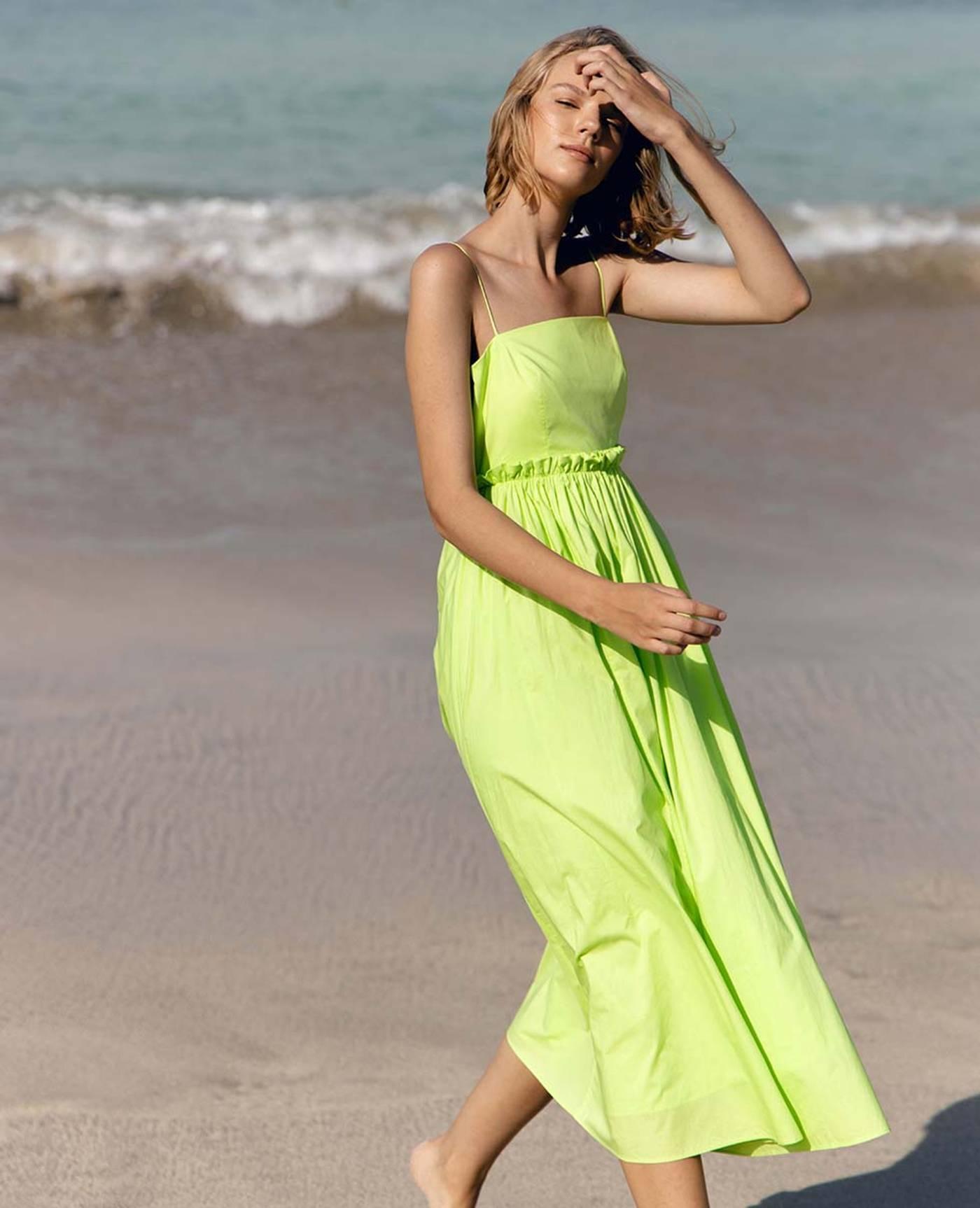 Josie Dress - Green Fields
