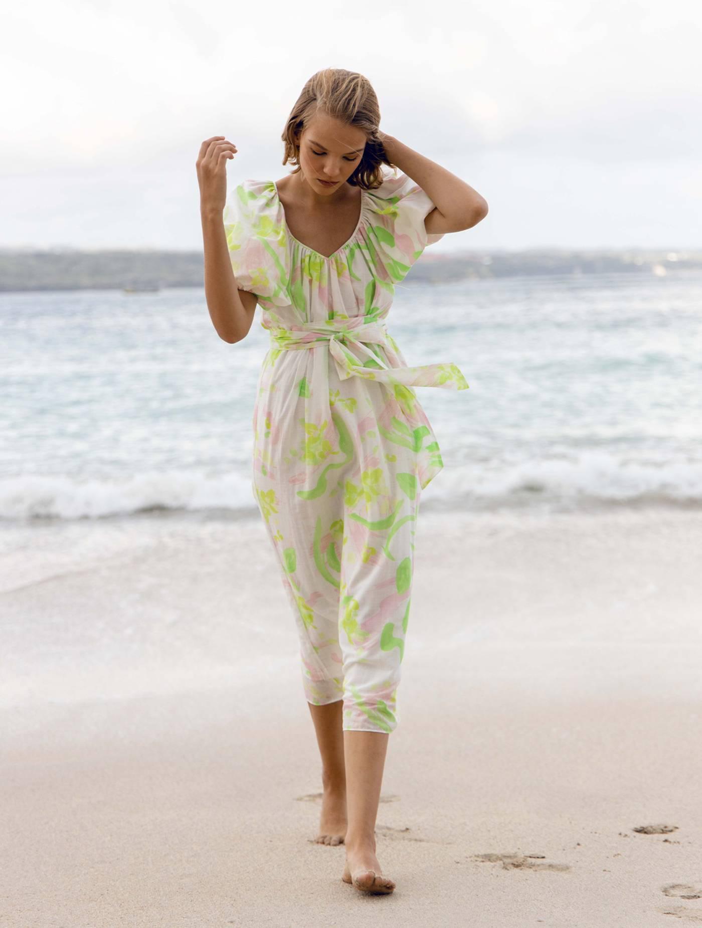 Ettie Dress - Spring Winds