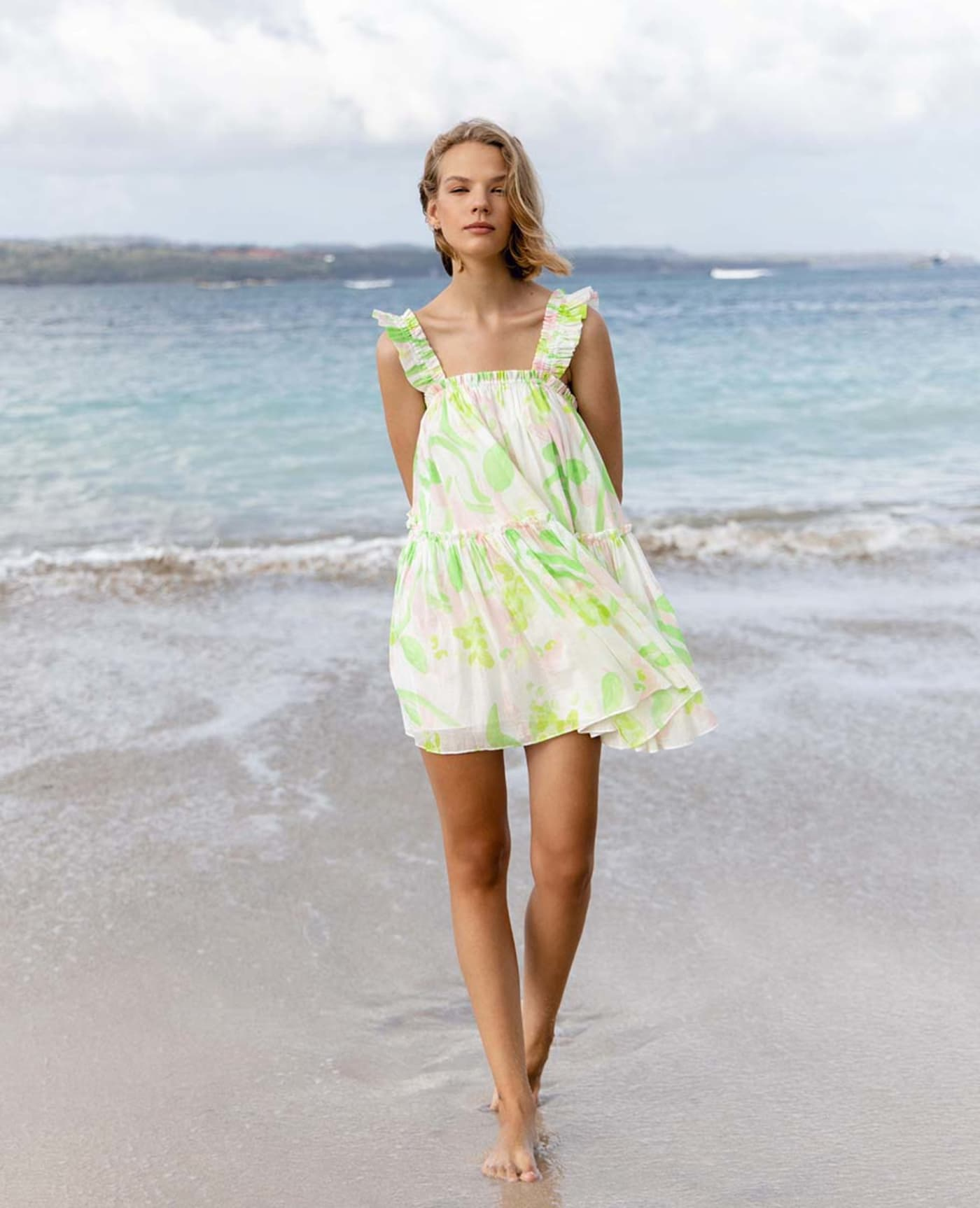 Clementine Dress - Spring Winds