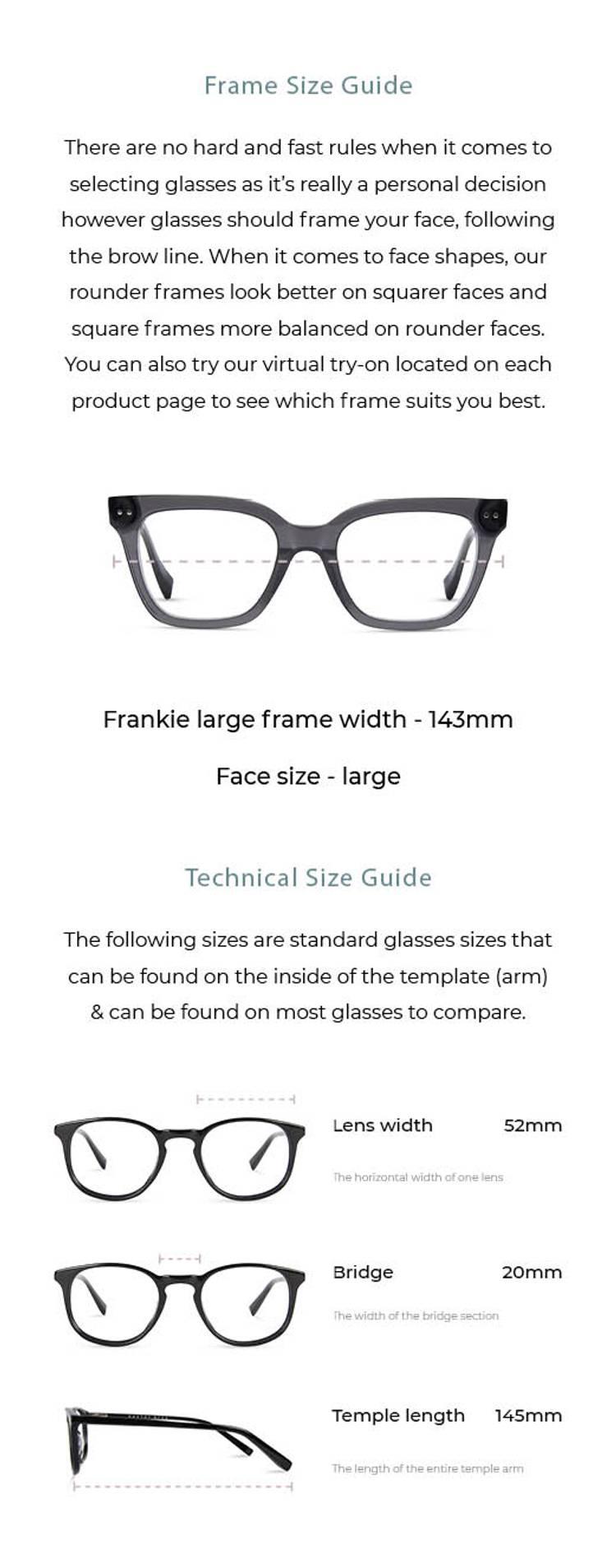 Frankie / Large - Amber Tortoise