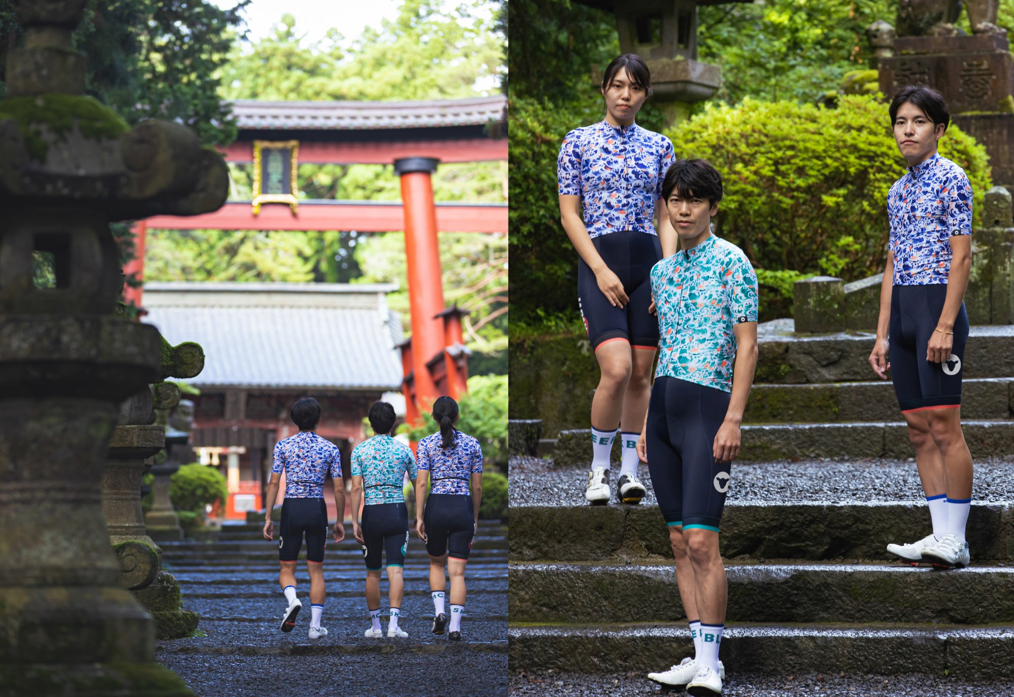 Men's LTD Japan Team Bib Sakura Blue