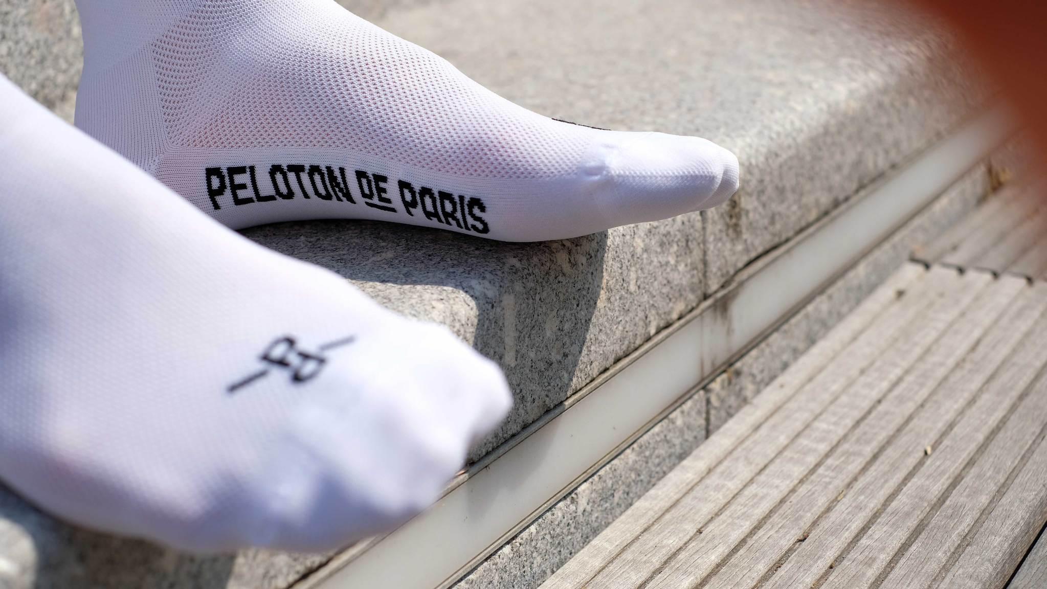 Classic White PLTN Socks