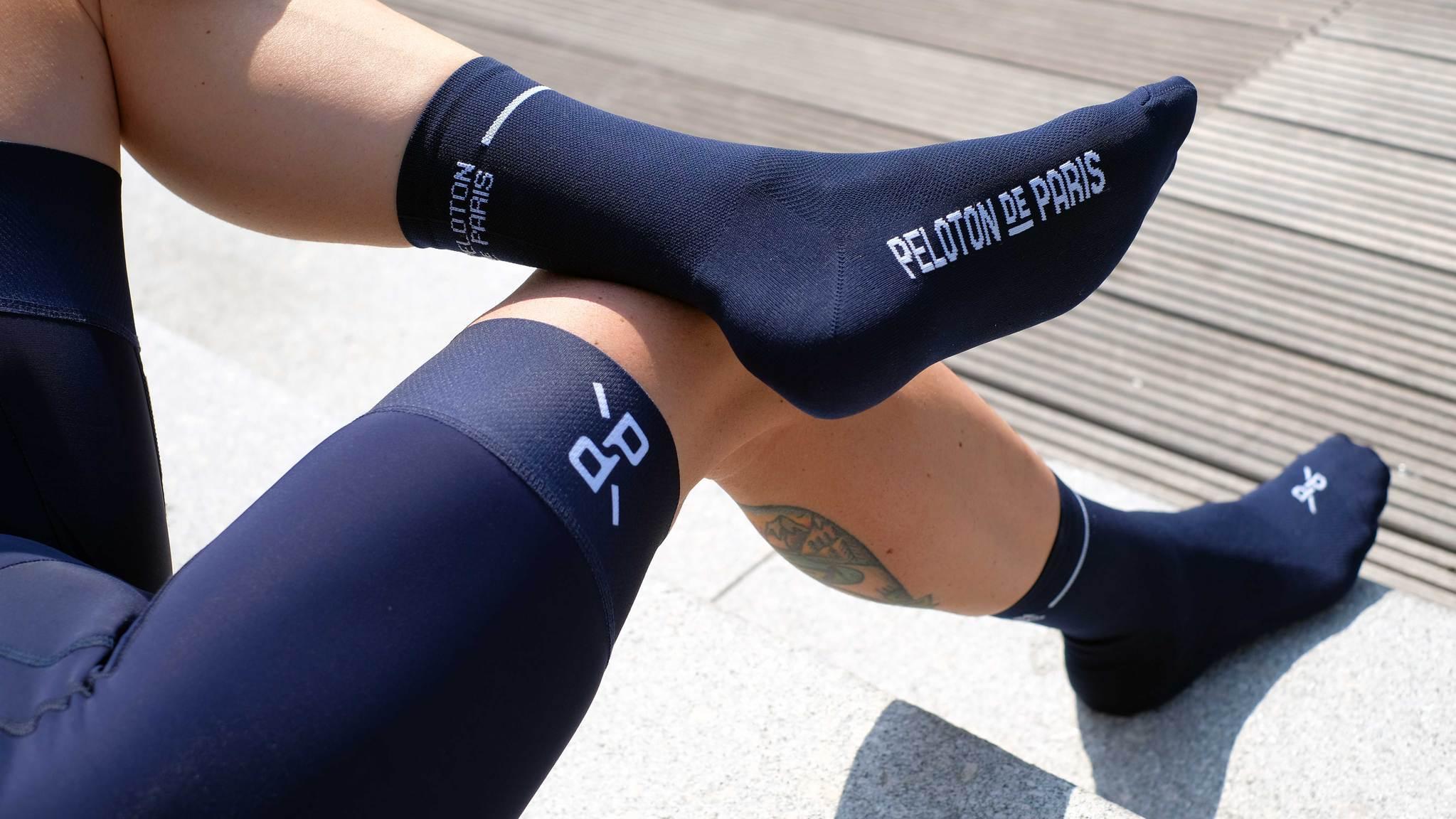 Classic Navy PLTN Socks