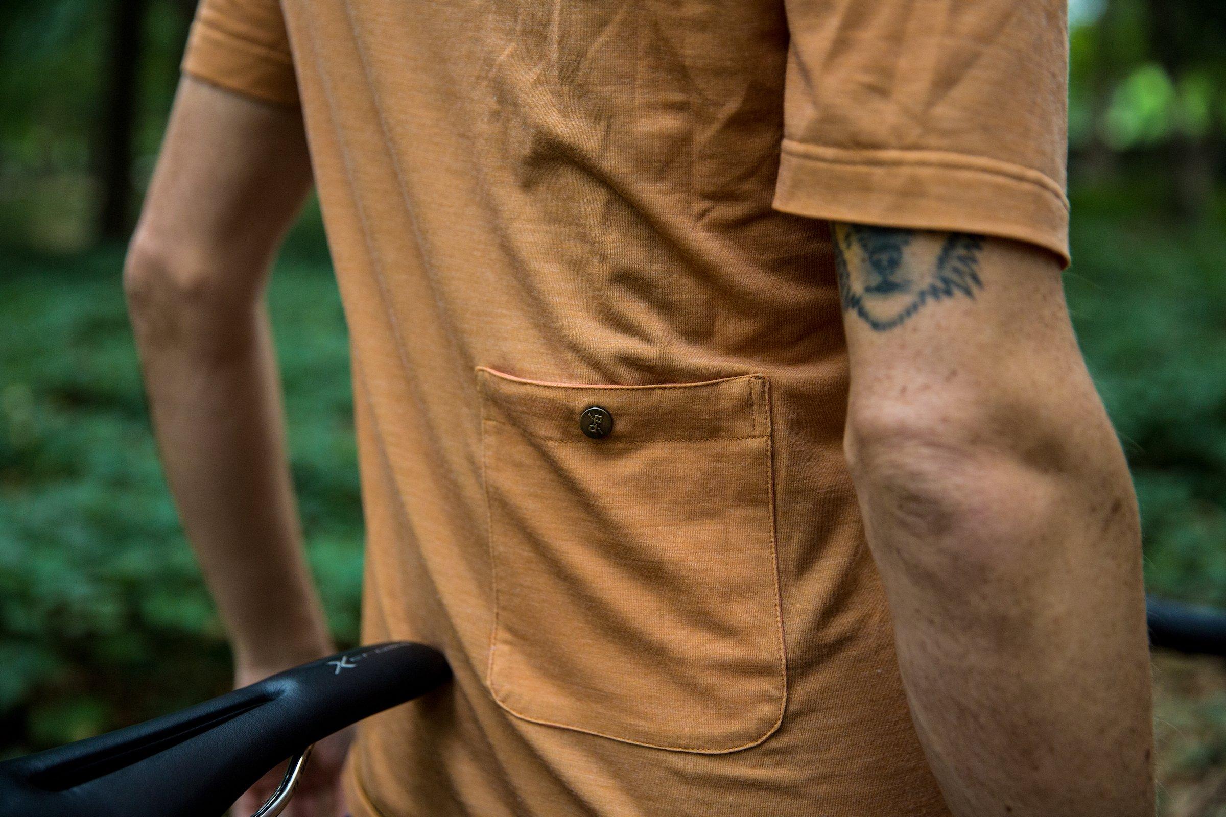 Atlas Merino Cycling T-Shirt Grey