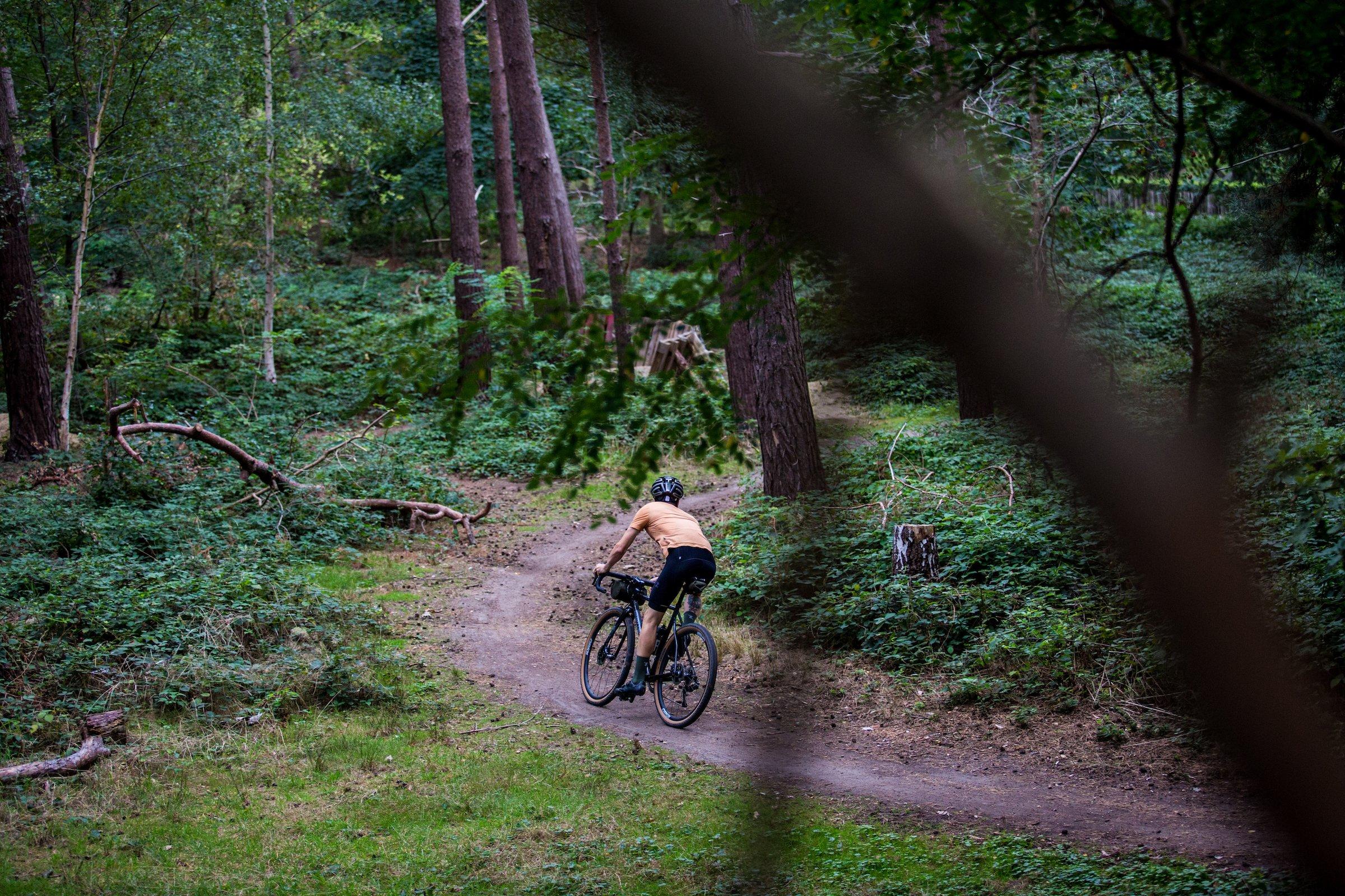 Atlas Merino Cycling T-Shirt Ochre