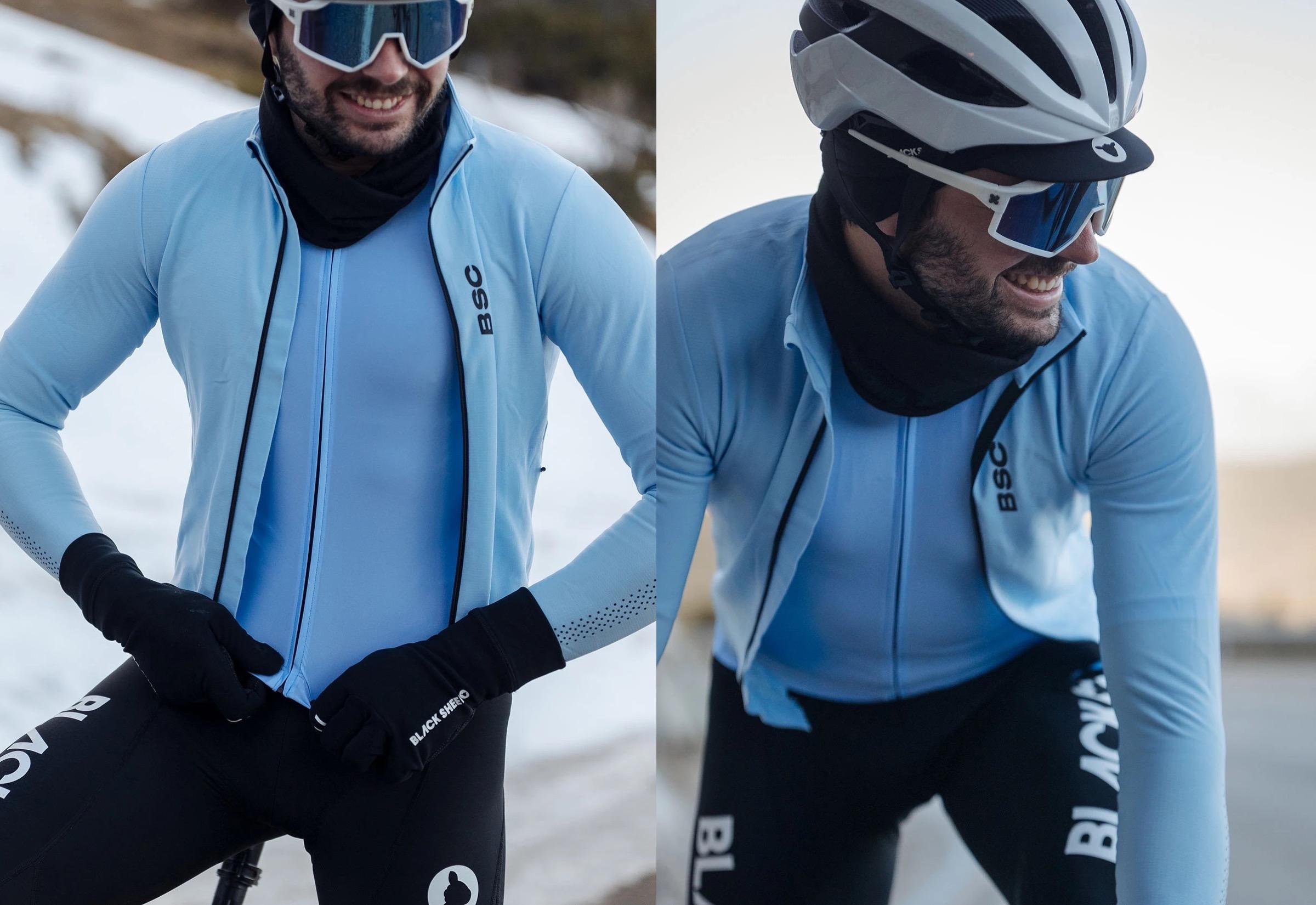 Men's Elements LS Thermal Jersey / Vista Blue