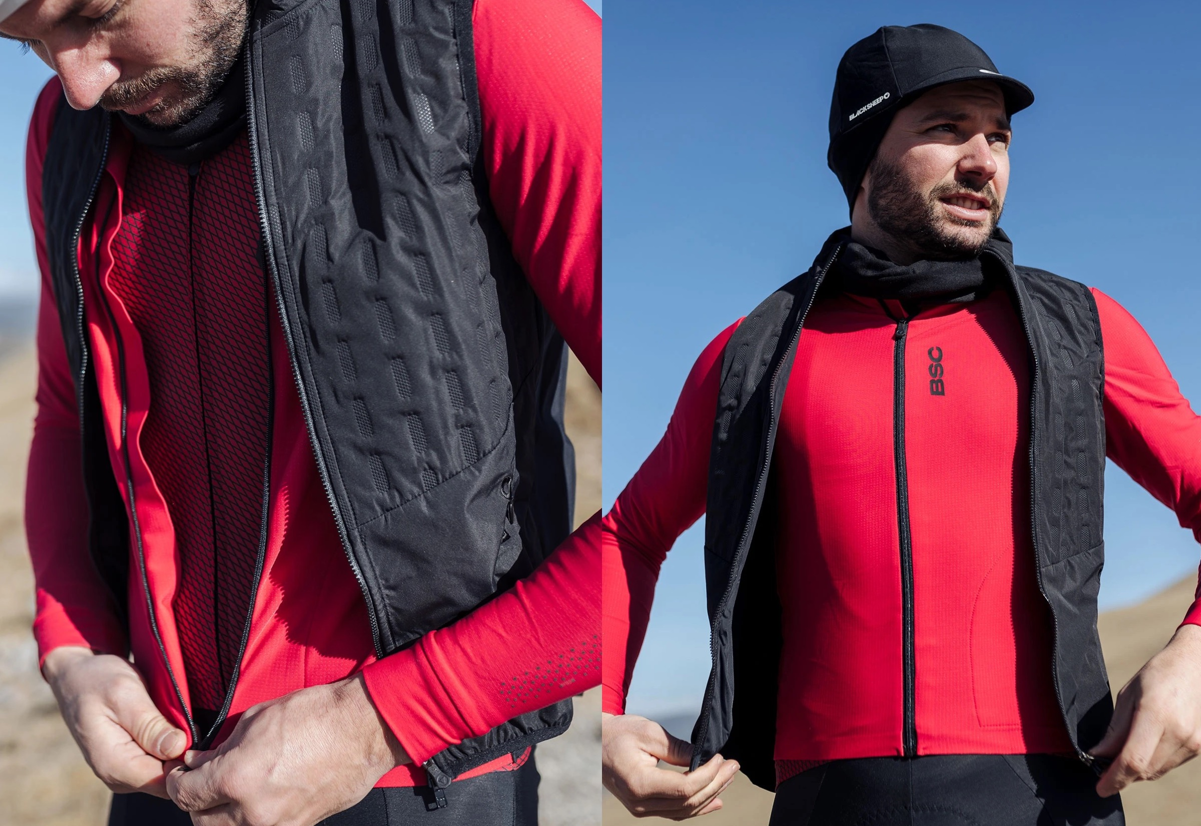 Men's Elements LS Thermal Jersey / Jester Red