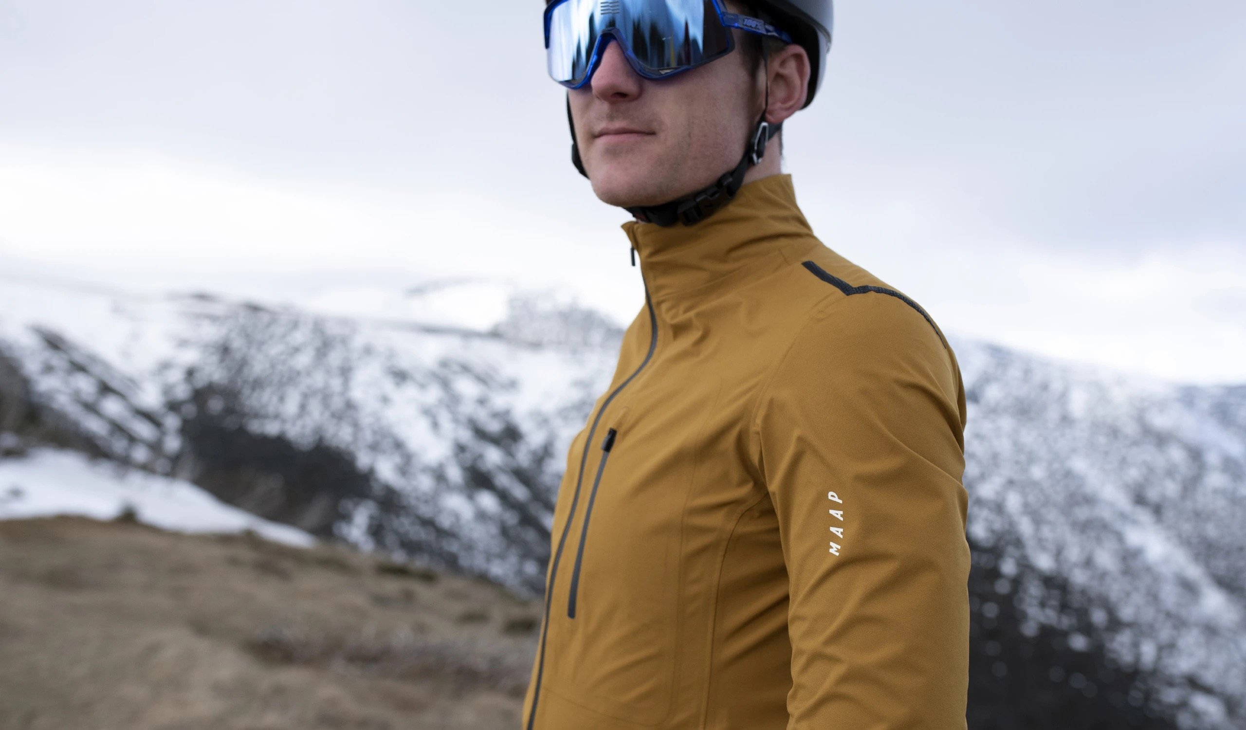 Men's Ascend Pro Rain Jacket / Desert