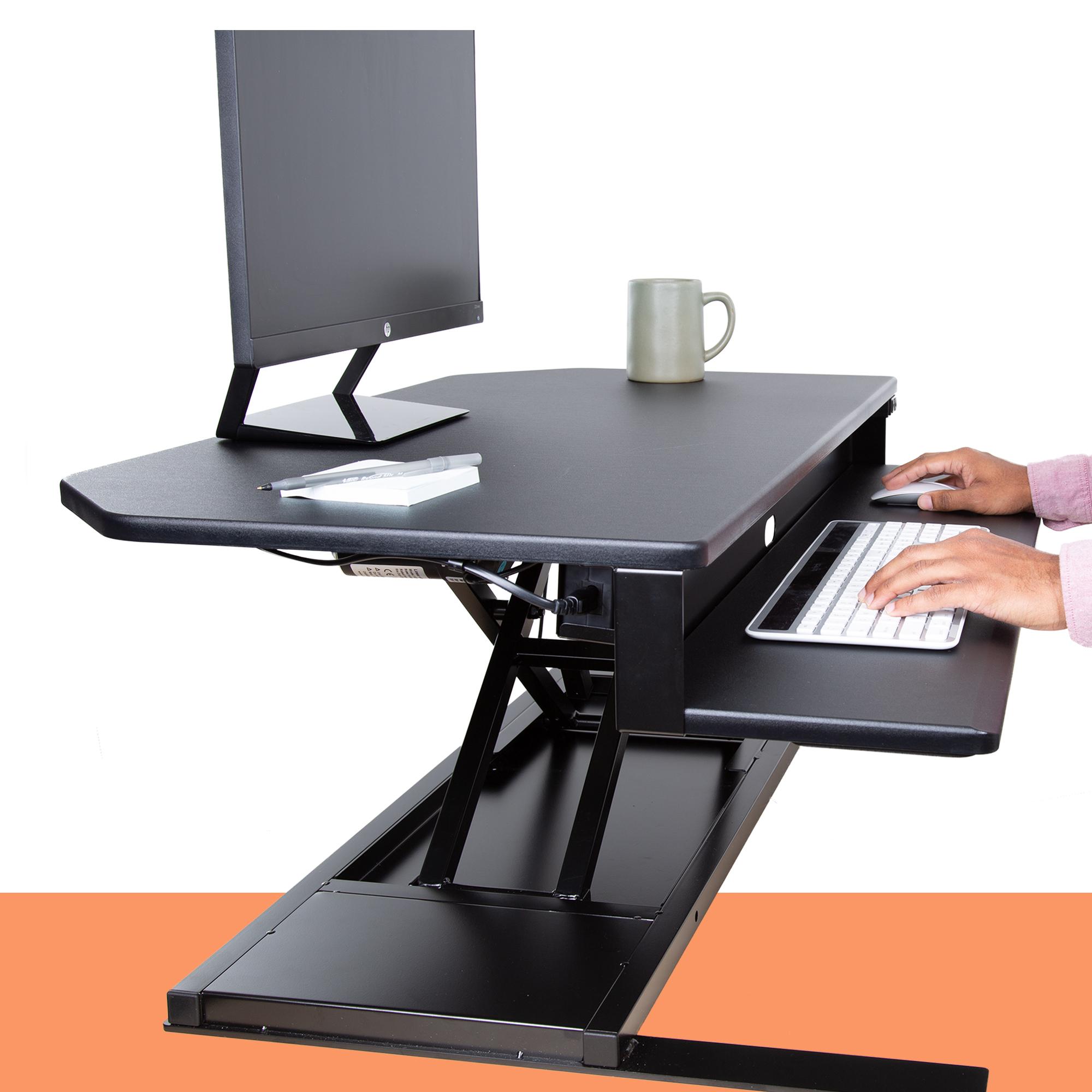 Perfectly Sleek Corner Desk