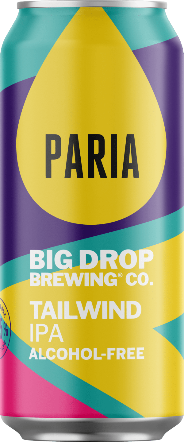 A pack image of Big Drop's Tailwind IPA