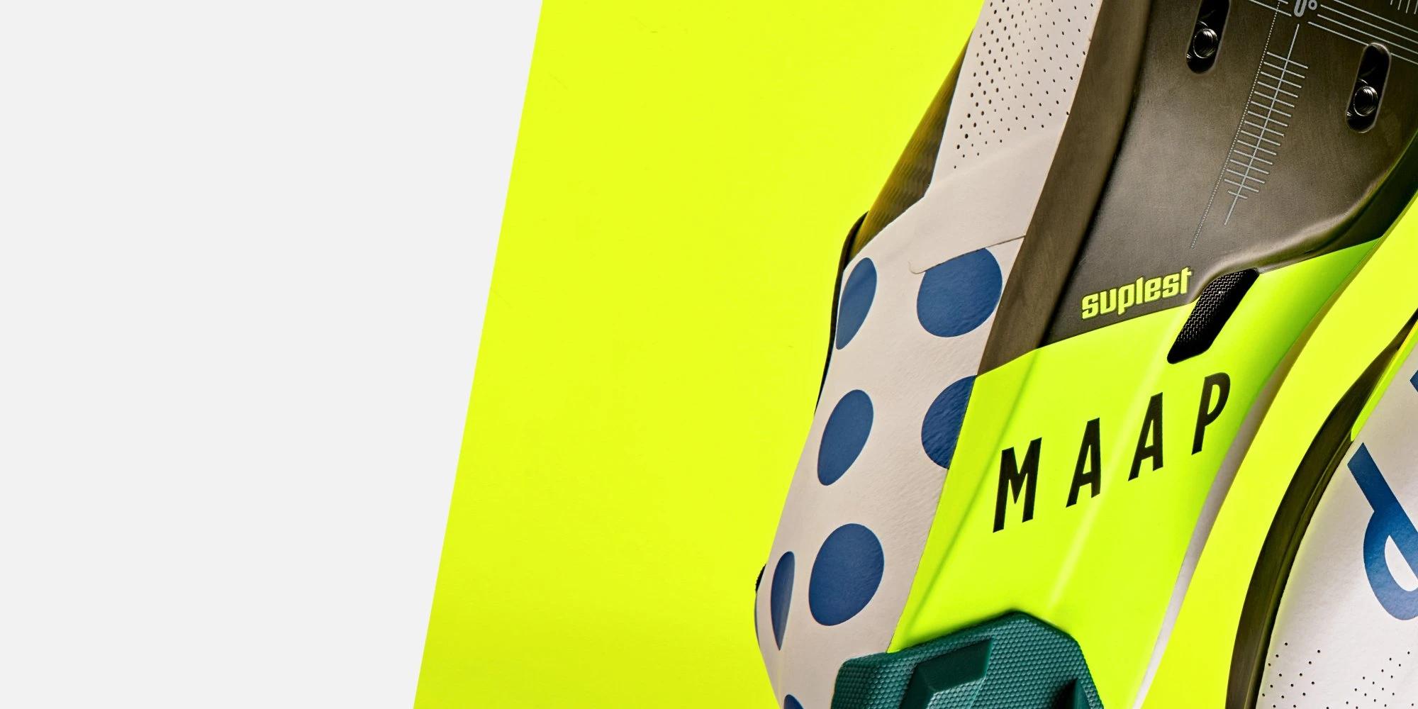 MAAP x Suplest Edge+ Road Pro Shoe / White