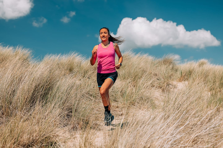 Women's Seamless Running Vest - Pink
