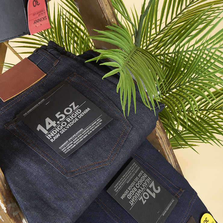 Unbranded Tapered Fit Jeans