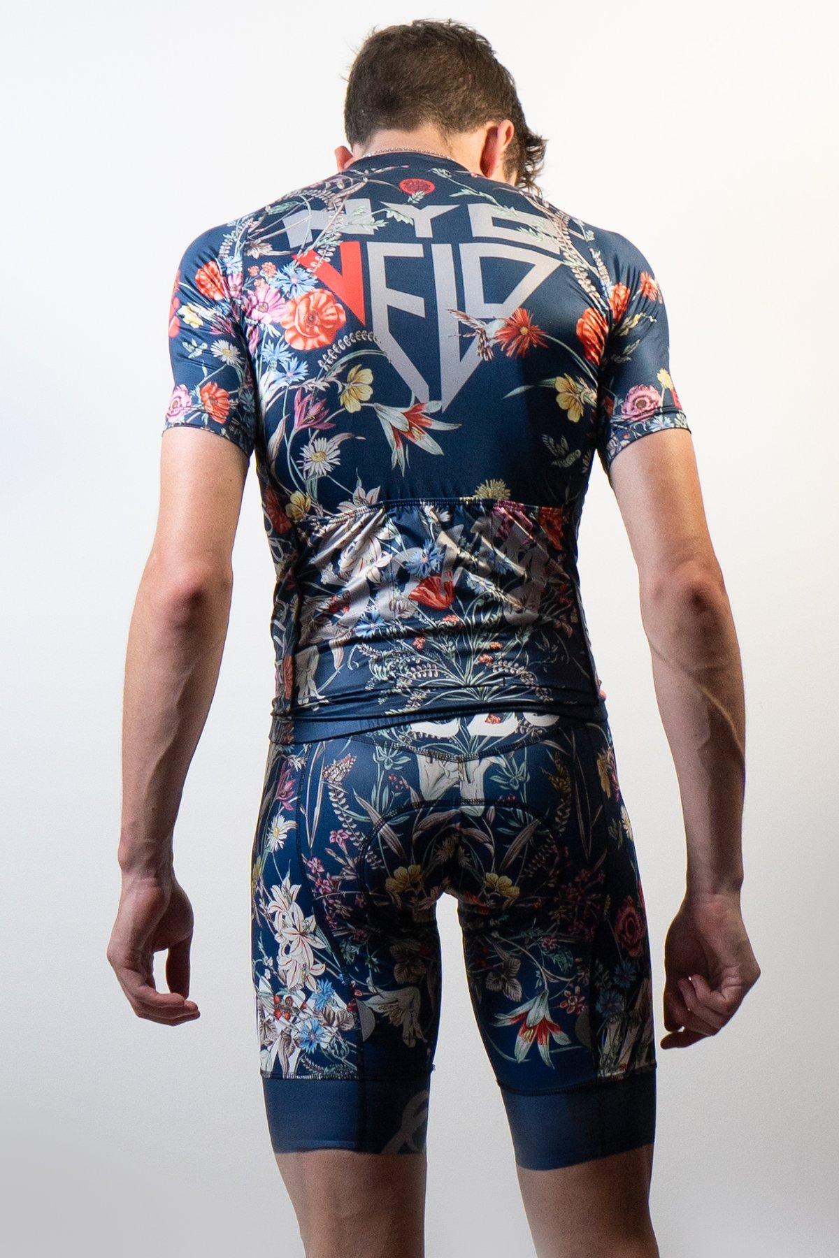 Men's Floral Bib & Jersey Bundle