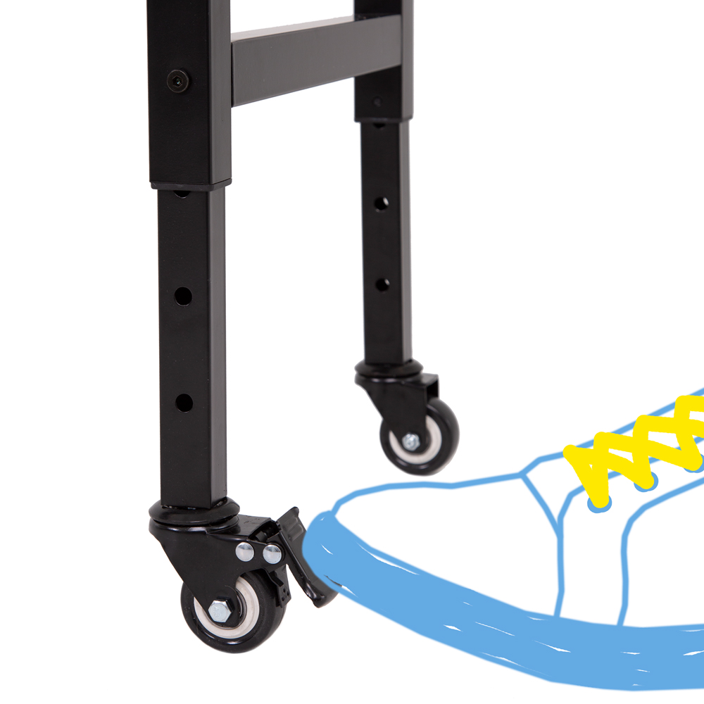 Easy-Rolling Wheels