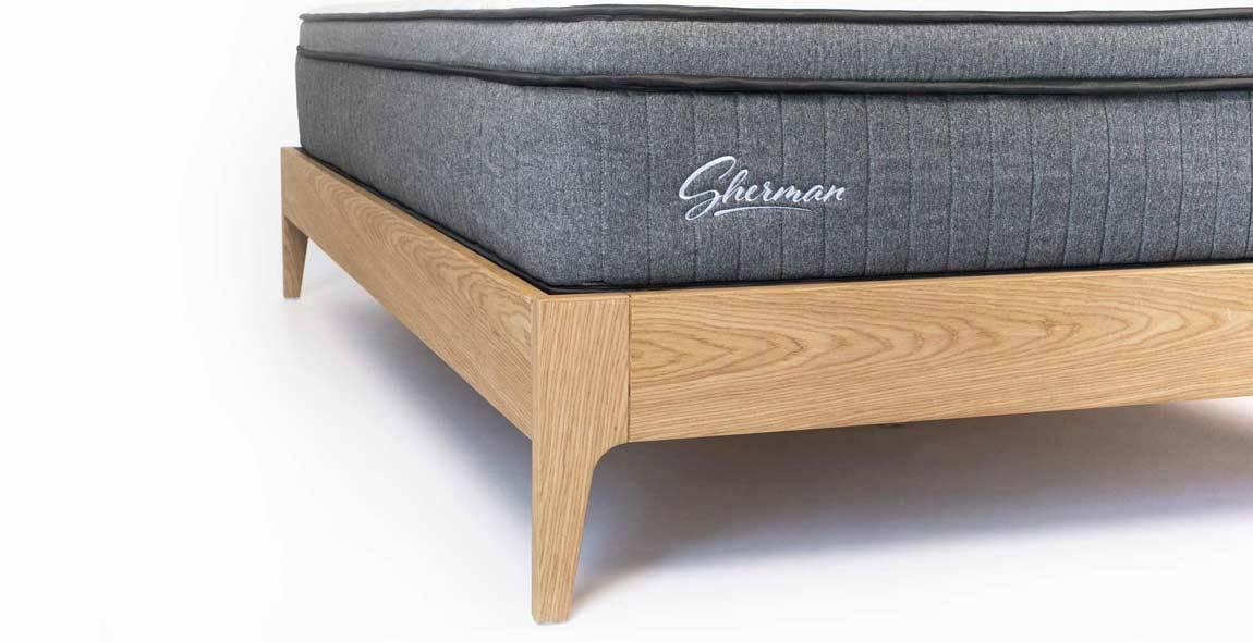 European Oak Bed Base