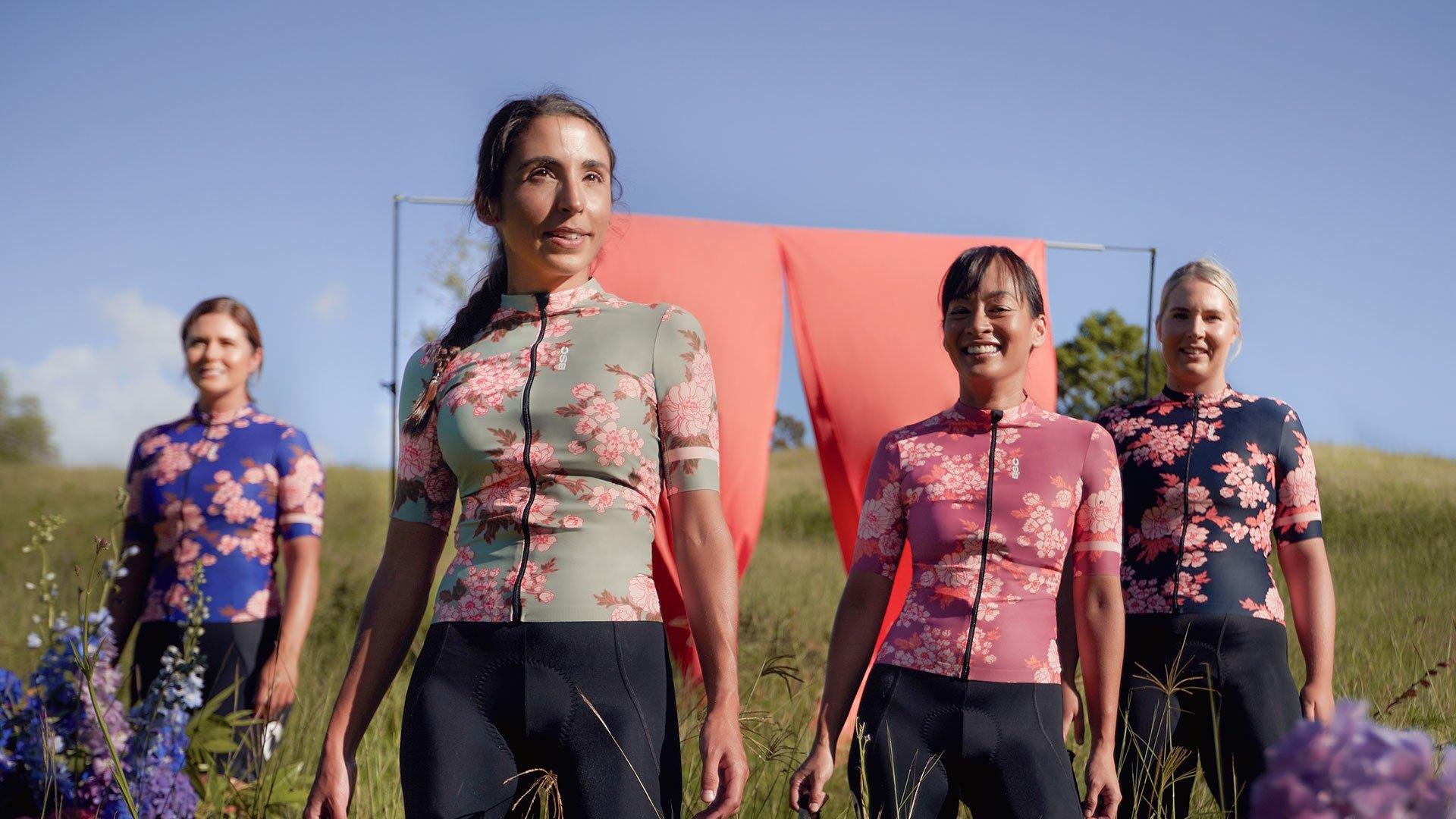 Women's WMN LuxLite Jersey / Green Gardenia