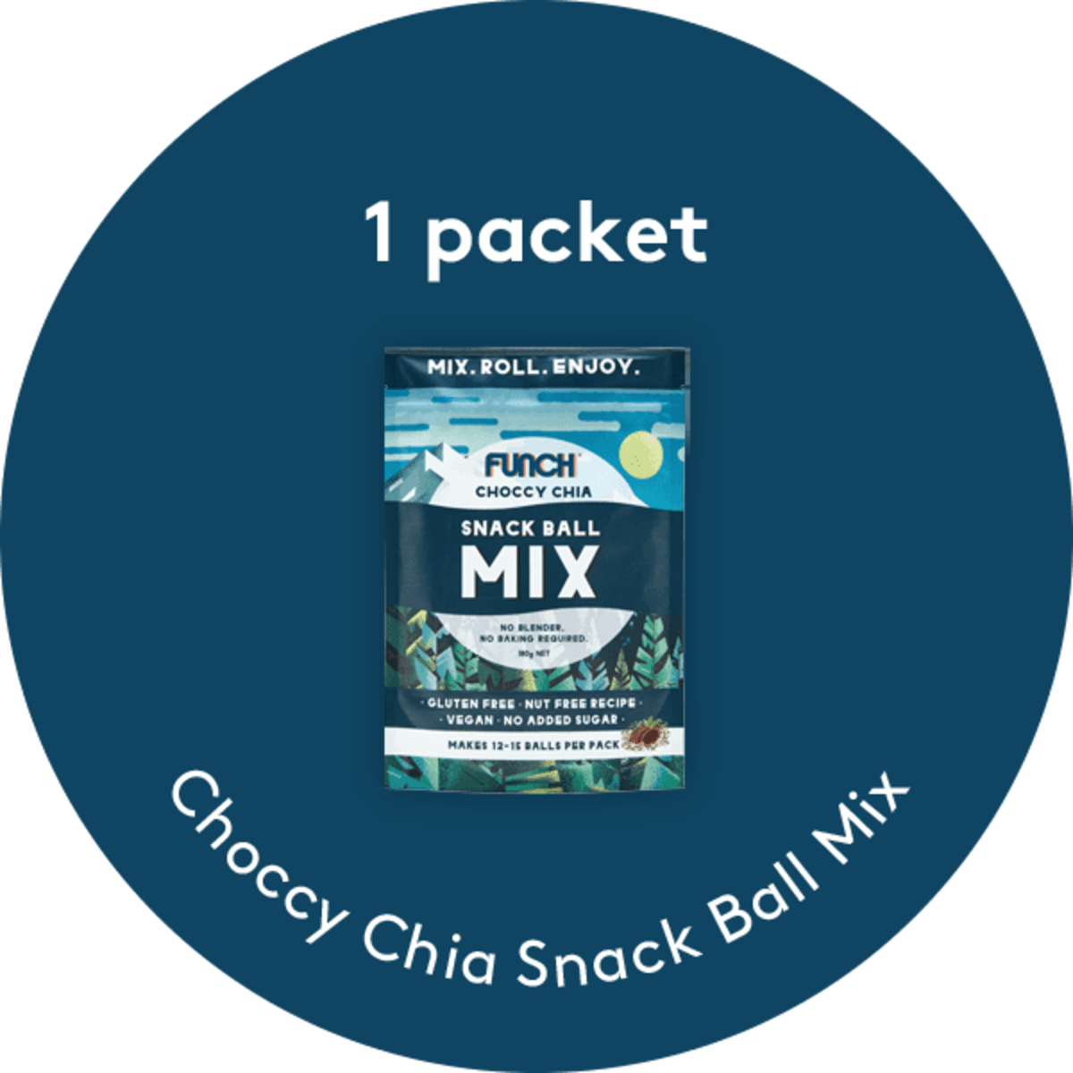 Choccy Chia Snack Ball Mix Multipack