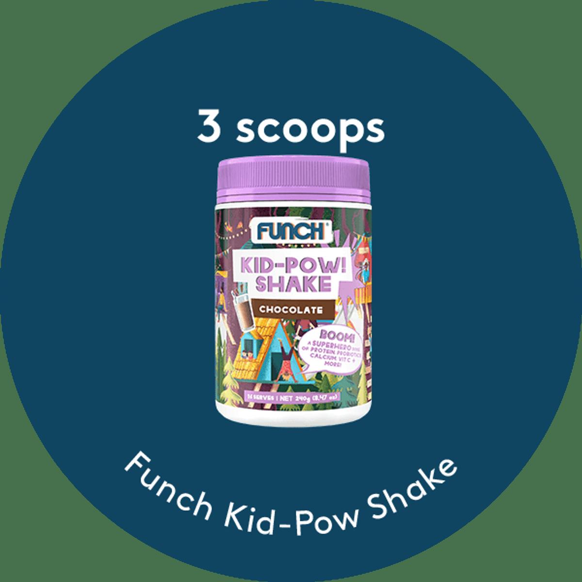 Chocolate Kid-Pow Shake
