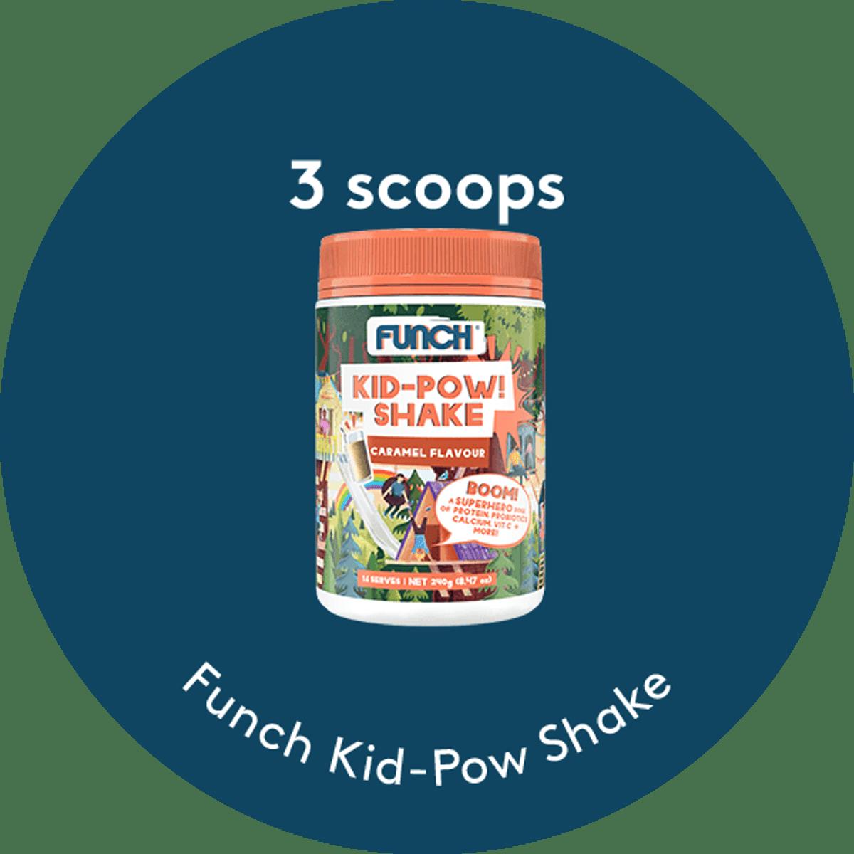 Caramel Kid-Pow Shake