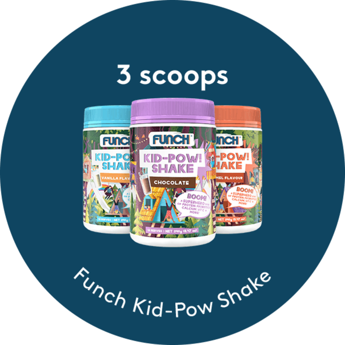 Kid-Pow Shake Boom Bundle