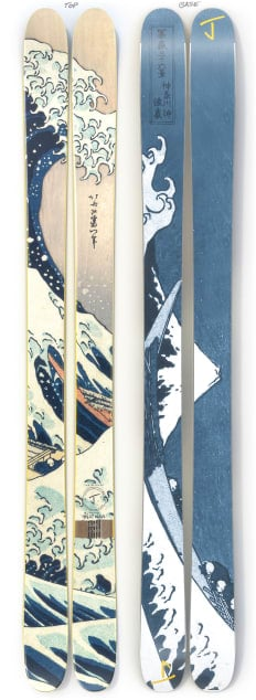 """The Allplay """"GREAT WAVE"""" Limited Edition Ski"""