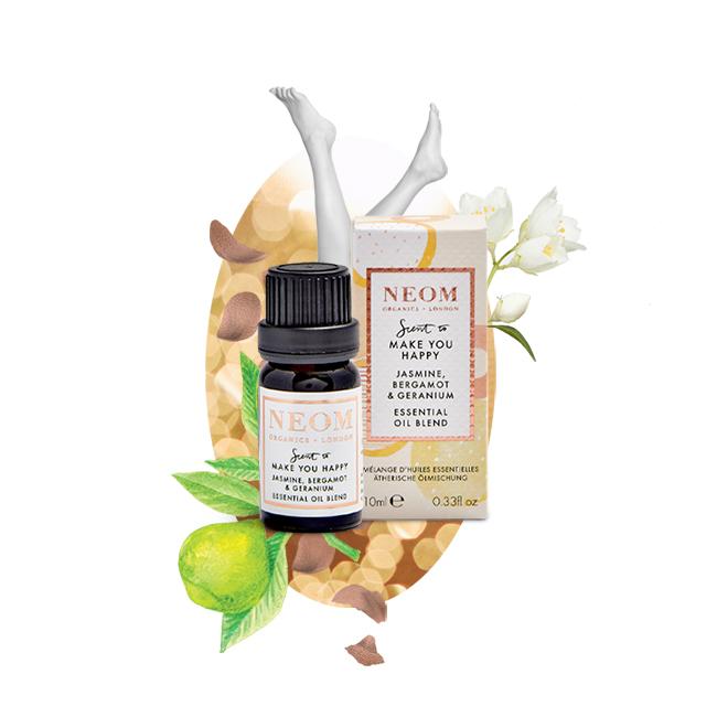 Jasmine, Bergamot & Geranium Essential Oil Blend