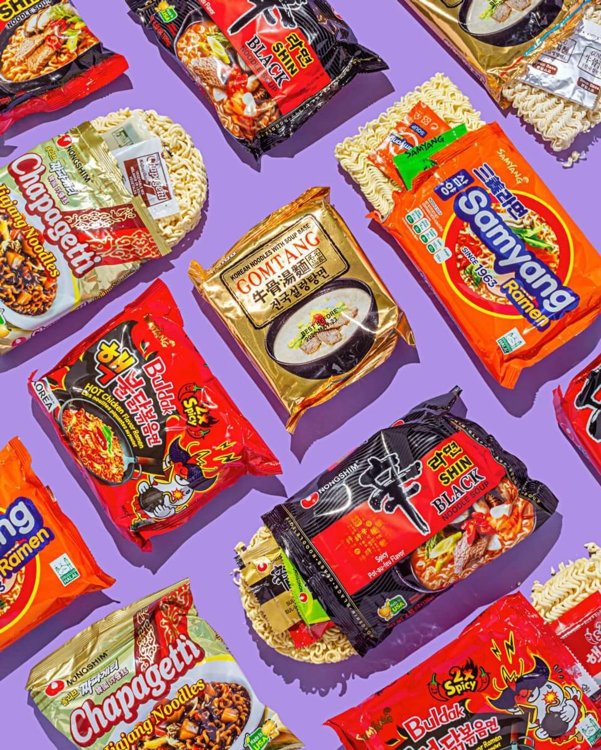 display of Umamicart snacks
