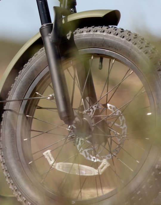 Fenders to protect your bike from mud, sand, rain, and snowmelt