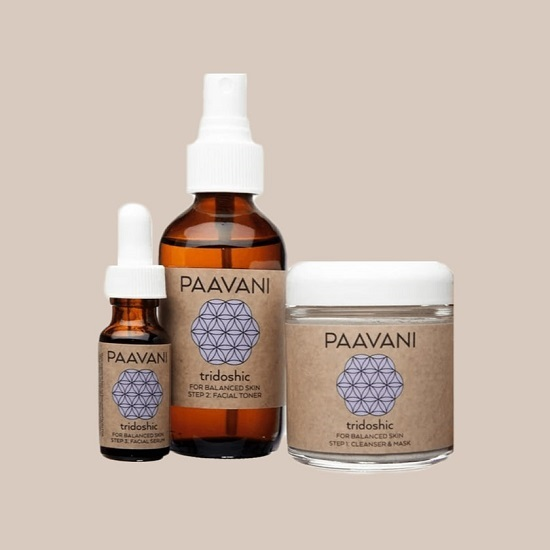 Tridoshic Skincare Set by Paavani