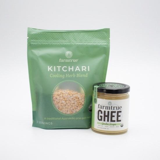 Garlic Ghee & Cooling Kitchari by Farmtrue