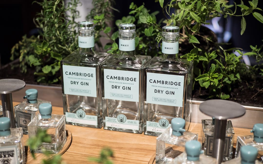 Cambridge Dry Gin Bottles