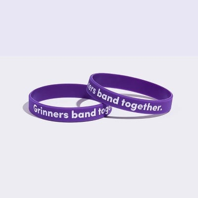 Grinners band together wristband